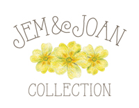 Jem&Joan sticky label