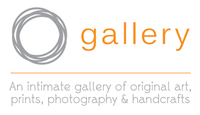 O gallery sticky label