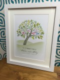 Bespoke Family Bird Tree